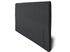 Kangasverhoiltu sängynpääty HYPNOS joustinsänkyyn 90x65x6 cm FR-86048