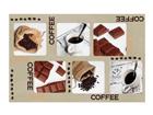 Lautasen alusta COFFEE AND CHOCOLATE 4 kpl AÄ-86503