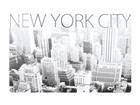 Lautasen alusta NEW YORK CITY 4 kpl AÄ-86504