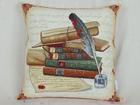 Gobeliinikankainen koristetyyny WRITER 45x45 cm TG-86698