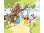 Fotoverho WINNIE THE POOH AND FRIENDS 180x160 cm ED-87098