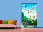 Fotoverho DISNEY FAIRIES WITH RAINBOW 140x245 cm