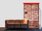 Fotoverho RED BRICKS 140x245 cm ED-87215