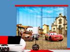 Puolipimentävä fotoverho DISNEY CARS 2