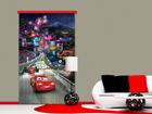 Puolipimentävä fotoverho DISNEY CARS 140x245 cm ED-87413