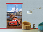 Puolipimentävä fotoverho DISNEY CARS PARIS 140x245 cm ED-87414
