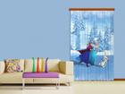 Puolipimentävä fotoverho DISNEY ICE KINGDOM I 140x245 cm ED-87418