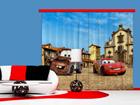 Pimentävä fotoverho DISNEY CARS 280x245 cm ED-87459