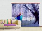 Pimentävä fotoverho DISNEY ICE KINGDOM 280x245 cm ED-87483