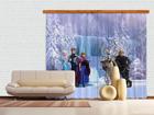 Pimentävä fotoverho DISNEY ICE KINGDOM 280x245 cm ED-87485