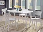 Ruokailuryhmä RENATA-O, pöytä + 4 tuolia BL-87768
