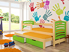 Lasten sänkysarja 2-le 75x180 cm TF-87983
