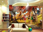 Kuvatapetti DISNEY FAIRIES 360x254 cm