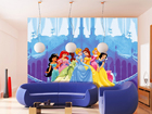Kuvatapetti DISNEY PRINCESSES AND THE CASTLE 360x254 cm