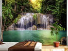 Kuvatapetti WATERFALL IN THE TROPICS 360x254 cm ED-88032