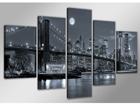 Viisiosainen seinätaulu NEW YORK 200x100 cm