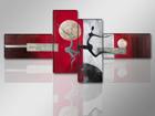 Neliosainen seinätaulu MODERNI 195x80 cm ED-89330