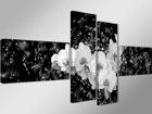 Neliosainen seinätaulu ORKIDEA VEDESSÄ 70x160 cm ED-89416