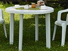 Puutarhapöytä TONDO Ø 90 cm EV-89853
