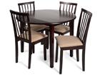 Klaffipöytä MONACO+4 tuolia MILANO GO-90369