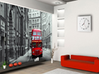 Fleece kuvatapetti LONDON BUS 360x270 cm ED-90563