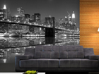 Fleece kuvatapetti NEW YORK IN BLACK AND WHITE 360x270 cm ED-90571