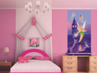 Fleece kuvatapetti DISNEY FAIRIES IN LONDON 90x202 cm ED-91016
