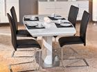 Jatkettava ruokapöytä WINNIPEG 160-200x90 cm AY-91154