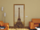 Fleece kuvatapetti PARIS EIFFEL TOWER 90x202 cm ED-91432