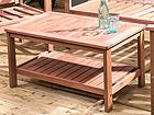 Puutarhapöytä WOODY 90x50 cm EV-91910