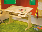 Kirjoituspöytä säädettävällä korkeudella JULIA AY-93025