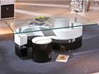 Sohvapöytä lasitasoilla SERENA AY-93504