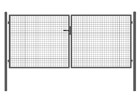 Ajoportti, harmaa 1,5x4 m PO-93604