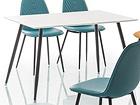 Ruokapöytä FLORO 120x80 cm WS-97786