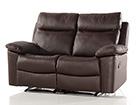 Nahkainen sohva 2-ist jalkatukimekanismilla URUGUAY AQ-97906