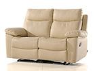 Nahkainen sohva 2-ist jalkatukimekanismilla URUGUAY AQ-97907