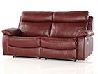 Nahkainen sohva 3-ist jalkatukimekanismilla EQUADOR AQ-97908