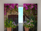 Pimennysverho FLOWERS IN POTS 240x220 cm ED-97954