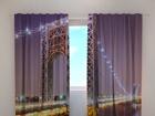 Puolipimentävä verho G.WASHINGTON BRIDGE 220x240 cm ED-97997
