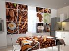 Puolipimentävä verho COFFEE AFRICA 200x120 cm ED-98336