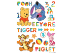 Seinätarra DISNEY WINNIE THE POOH AND FRIENDS 65x85 cm ED-98725