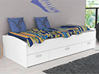 Lasten sänky+laatikot 90x200 cm TF-98989