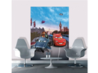 Fleece kuvatapetti DISNEY CARS IN LONDON 180x202 cm