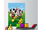Fleece kuvatapetti DISNEY MICKEY AND FRIENDS 180x202 cm