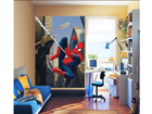 Fleece kuvatapetti SPIDERMAN 180x202 cm