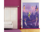 Fleece kuvatapetti DISNEY FAIRIES IN LONDON 180x202 cm