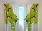 Pimentävä verho LIME COLOURED ORCHID 240x220 cm ED-99368