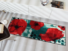Matto POPPIES BY THE POOL 60x180 cm A5-99516