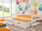 Lasten sänkysarja 2-le 90x200 cm TF-99647