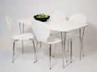 Ruokapöytä 138x80 cm, valkoinen AY-99747